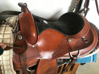 16in Haflinger Sierra trail saddle lightly used