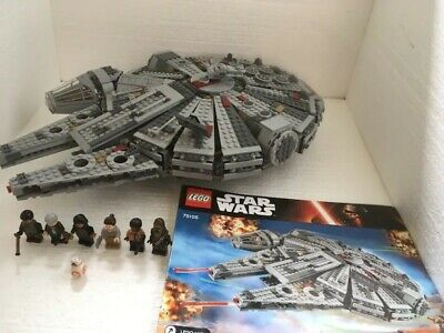 Lego Star Wars Millenium Falcon 75105 100% complete with figures