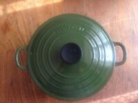 LE CREUSET Cast Iron Casserole. NEW!!