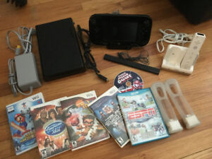 WII U, system and accessories