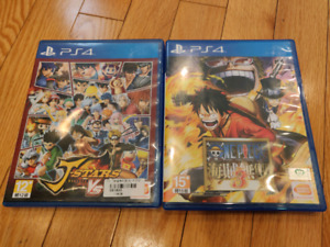 PlayStation 4 Games (JP voice/Chinese Sub)