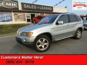 2001 BMW X5 4.4i  AS TRADED *UNCERTIFIED*