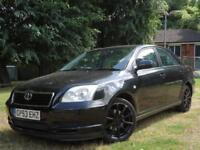 Toyota Avensis 2003 1.8 VVT-i T3-S 5dr ** GENUINE VOSA VERIFIED LOW MILEAGE **