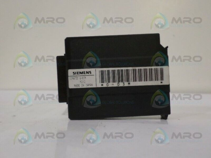 SIEMENS SIMATIC G-03M MEMORY MODULE *NEW IN BOX*