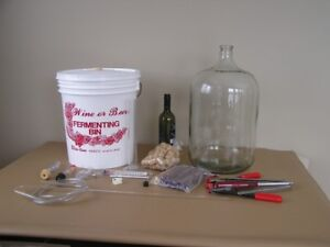 Wine and Beer Equipment Kit