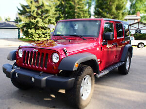 Jeep Wrangler, 2011, Manual, Sport SUV, Low Km's