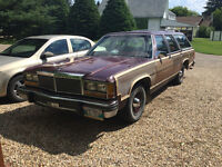 1980 Ford LTD Country Squire Station Wagon