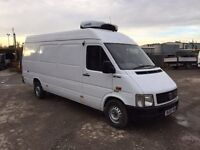 2006 vw lt35 2.5 tdi lwb high roof fridge van with over night