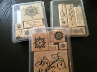 Stampin' Up Wood Stamp Sets