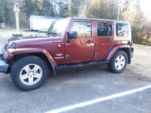 2008 Jeep wrangler Sahara unlimited(New MVI Jan.2020)