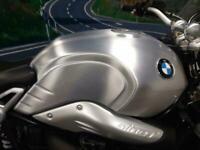 BMW R NINE T SPORT RETRO, AKRAPOVIC, BRUSHED ALLOY TANK,