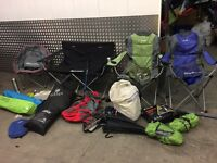 Camping equipment joblot £65