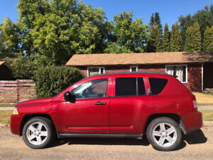 2007 Red Jeep Compass