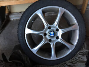 BMW Winter tires and rims 225/45R17