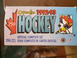 O-PEE-CHEE 1992-93 Hockey Card set