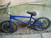 Kona BMX with 1979 Lester Mags