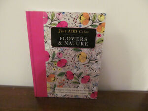 """Coloring Book """"Flowers & Nature"""" Book No 3"""
