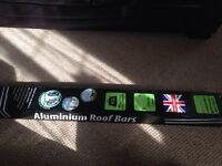 Aluminium roof bars rack car