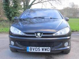 Peugeot 206 1.6 ( a/c ) 2004MY Coupe Cabriolet Allure manual petrol 1 lady owner