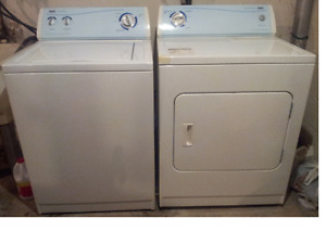 Electric matching Washer and Dryer
