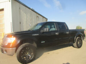 2012 Ford F-150 SuperCrew SXT  4X4-3.5L V6 ECOBOST-ONE OWNER