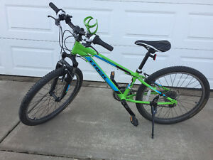 Excellent condition Boys Trek MT220 Mountain Bike for sale.