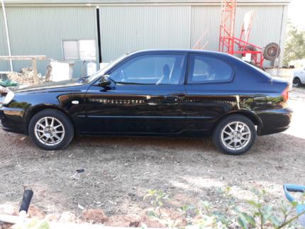 2005 Black Hyundai Accent Hatchback - LOW KMS Parkerville Mundaring Area Preview