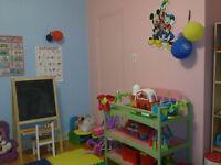 Garderie /daycare  a CDN/NDG 7h00 a 18h00