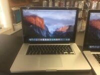 "2010 MacBook Pro 15"" i5 2.4ghz 4gb ram, 320gb hd £450 each"