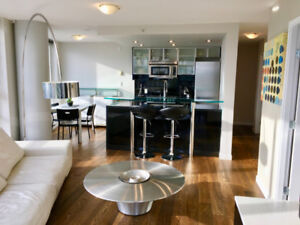 Yaletown – 2 BR/2BR Fully Furnished Executive Condo for Rent