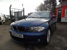 2009 BMW 1 Series 118d M Sport 3dr,2 keys,12 months mot,Warranty,Px welcome,L...