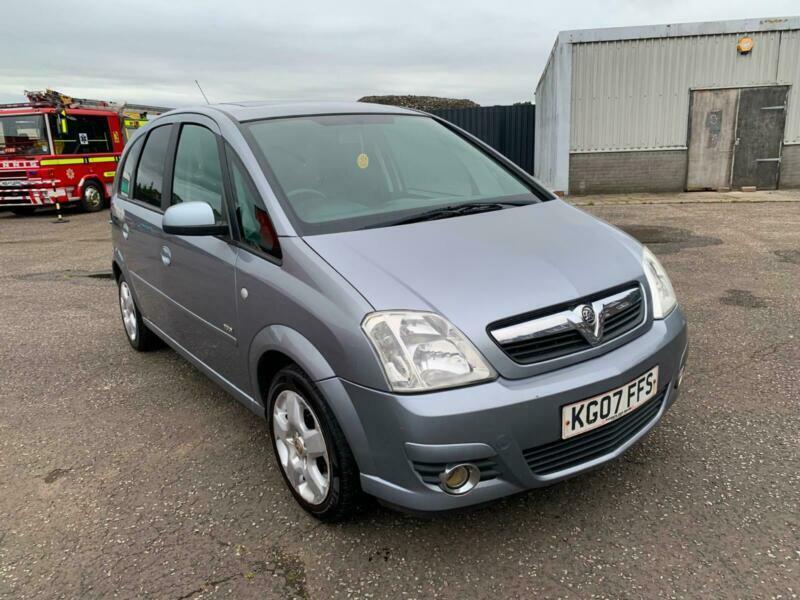 2007 Vauxhall/Opel Meriva 1.6i 16v Design , mot-August ...