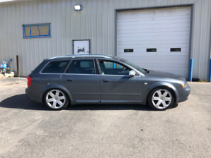 2004 Audi S4 Avant - beautiful condition and very low kms