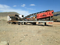Jaw Crusher and 406 CAT