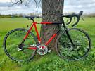"Raleigh racer bike - 22"" - 700c wheels - shimano Sora - gatorskin"