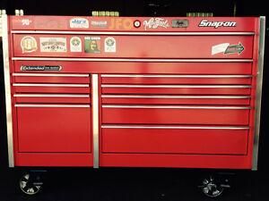Red Snap-on KRL series tool box Cambridge Kitchener Area image 5