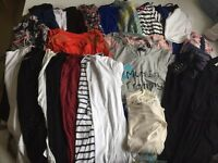 Huge maternity clothes- bundle size 10-12