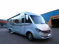 Burstner Elegance i810g motorhome with garage and drop down bed for sale