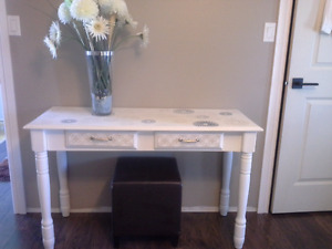 Gorgeous Entry  Table,  one of a kind.