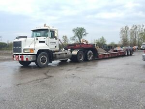 MACK HEAVY SPEC TRACTOR AND 60 TON FLOAT TRAILER