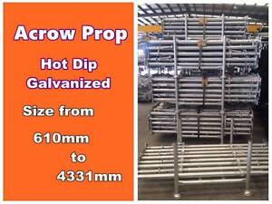 【Australia Prop Shop】New Galvanized Acrow prop For Sale & Hire Dandenong South Greater Dandenong Preview