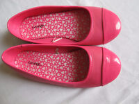 2 pairs of ballerines for girl size 13