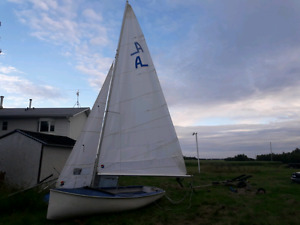 Albacore Sailboat NEW SAILS and Ready to Go!