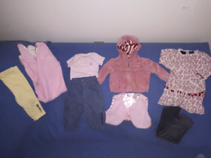 Calvin Klein Baby Girls Clothing Lot Size 6-12mts