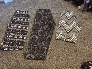 3 leggings from Suzy shier, size small. Excellent condition
