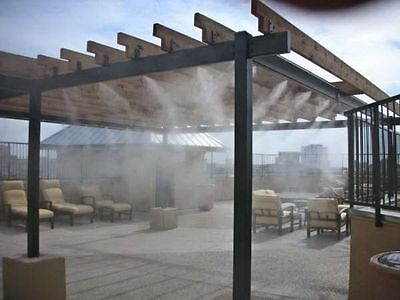 Climate Veil Patio Misting & Cooling System. Great for Outdoor & BBQ Areas