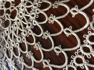 3 Gorgeous Pieces of Lace / Tatting / Crochet including a Collar