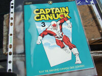 Vintage Captain Canuck comic comeback issue from '90s