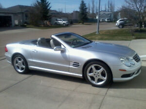 Mercedes Benz SL 500 Roadster 2003