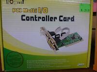 I/O Crest PCI Multi I/O Controller Card